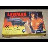 Arminha De Brinquedo Inofensivos Rambo Lawman Magnum 357