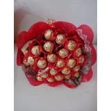 Chocolate Buque De Bombom Dia Dos Namorados Pascoa