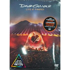 Dvd David Gilmour - Live At Pompeii (2017) Dvd Duplo - Lacra