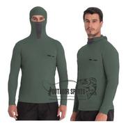 Camisa Proteção Uv Ninja Militar Maratona Corrida Ciclismo