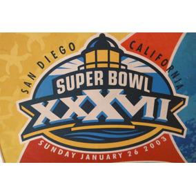 Cojin Estadio Super Bowl 37 Futbol Americano Nfl Tampa Raide