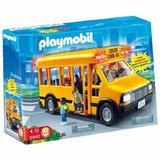 Playmobil 5940 City Action Bus Escolar Colectivo Luz