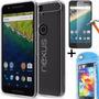 Funda Huawei Nexus 6p Tpu Transparente + Vidrio Templado !