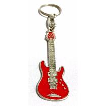 Chaveiro Guitarra Strato Mega Metal Instrumentos Musicais