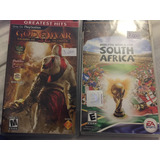 2010 Fifa South Africa Y God Of War Psp