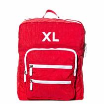 Xl Extra Large Sandro Mochila Color Rojo Cartera Para Mujer