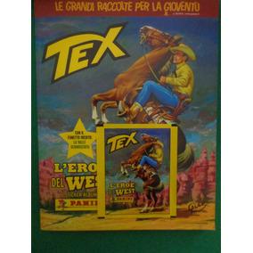 Album Tex Bonelli Panini Completo Colado