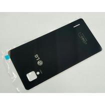 Tapa Trasera Lg Optimus G Mod: E975 E976 E973 Color Negro