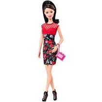 Barbie Fashionistas Raquelle Doll Flor Vestido De Impresión
