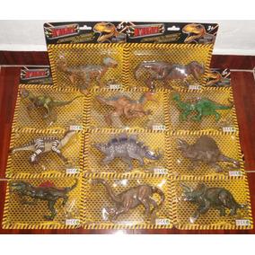 Juguetes De Dinosaurios Colección Completa