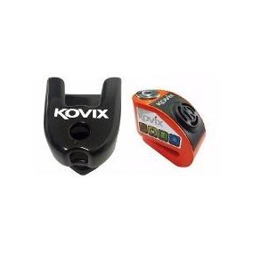 Kit Com 1 Trava Disco Moto Com Alarme Prova D