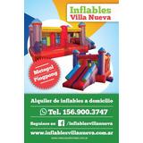 Alquiler De Inflables, Metegol Y Plaza Blanda
