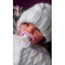 Gorrito Tejido A Mano Reborn Bebés Prematuros