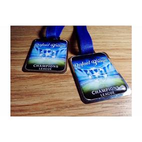 Medalha Esportiva Personalizada Metal Resinada Grande 5x4 Cm