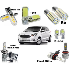 Super Kit Lâmpadas Super Led Ford Ka Efeito Xenon