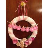 Cartel De Bienvenida Floral Para Nacimientos Y Baby Shower