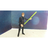 Hasbro Star Wars Luke Skywalker Episodio V Negro 2010