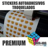 Plancha Stickers Etiquetas Autoadhesivos Troquelados En 24hs