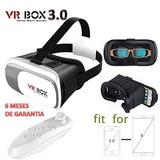 Lentes Realidad Virtual 3d Vr Box 3.0 Envio Gratis C/remoto