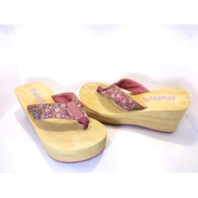Chinelo Plataforma Importado Skechers - No. 36 Br Lindo