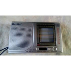 Radio Kchibo Portatil Am Fm Sw Onda Corta Multibandas