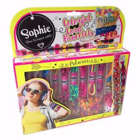Colorful Cord Bracelets Pulsera Sophie Caffaro 6317margarita