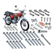 Clown Kit 53 Parafusos Motor Honda Ml Cg125 1977-88 Ohv A1z