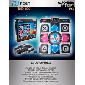 Alfombra De Baile Ps2 Usb Noga Ngx-800