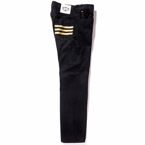 Pantalon Jeans Originals Stripes Black Hombre adidas Ac0002