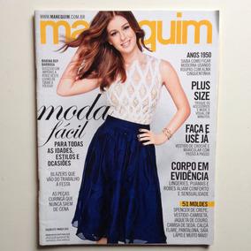 Revista Manequim 672 Marina Ruy Barbosa Ano 2015