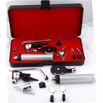 Set Equipo Kit Diagnostico Médico Otoscopio Oftalmoscopio