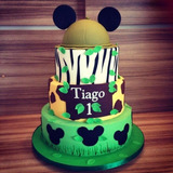Tortas Tematicas Mickey Mouse Infantil