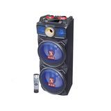 Bafle Amplificado Bocinas 2x12 Bluetooth Recargable Ksr 9212