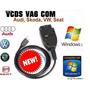 Escaner Automotriz Vag-com V12.12.3 Vw Audi Seat Español