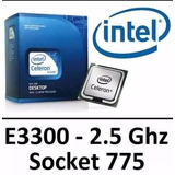 Processador Intel Celeron E3300 2.5ghz Dual Core