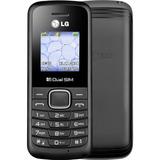 Celular Lg-b220a Preto Dual Sim Original Barato Desbloqueado