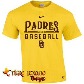 Playera Beisbol Mlb Padres S D Mod K By Tigre Texano Designs