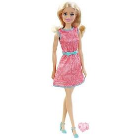 Barbie Con Regalo Surtido Vestido Fucsia/rosa