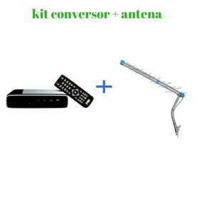 Kit Conversor + Antena Digital Promoçao Envio Ultra Rápido