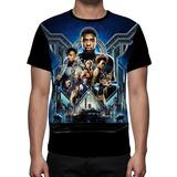 Camiseta Filme Pantera Negra - Frente