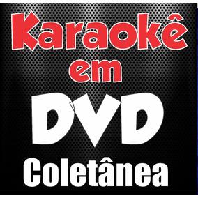 Dvd Karaokê Músicas Pop, Rock, Sertanejo, Mpb, Forró, Intern