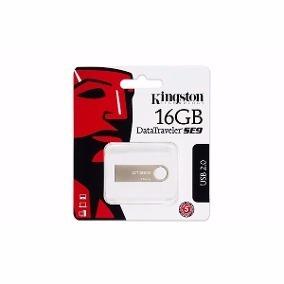Flashdrive Kingston Pen 16gb Usb Data Traveler Plateado