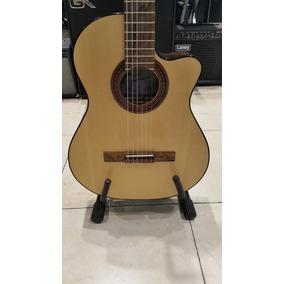 Guitarra Fonseca 40 Kec Con Mic. Y Ecualizador