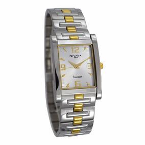 Reloj Nivada Swiss Ng1865gbicba 100% Original *envío Gratis*