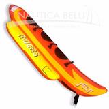 Banana Inflable Para 3 Personas - Juego De Arrastre Nautica