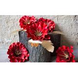 Decoração Flores Gigantes Casamento Festa Eva Eventos Fotos
