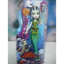 Monster High Sirena Frankie Stein Brilla En La Obscuridad