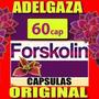 Forskolina Forskolin Pastilla Quemador + Ampk Adelgazante