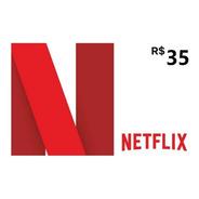 Cartão Netflix R$ 35 Reais