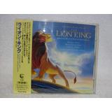 Cd Trilha Sonora O Rei Leão- Importado (japão)- Com Obi